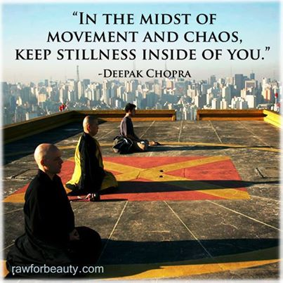 stillness and chaos